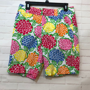 Lilly Pulitzer Floral Bermuda Resort Fit Shorts